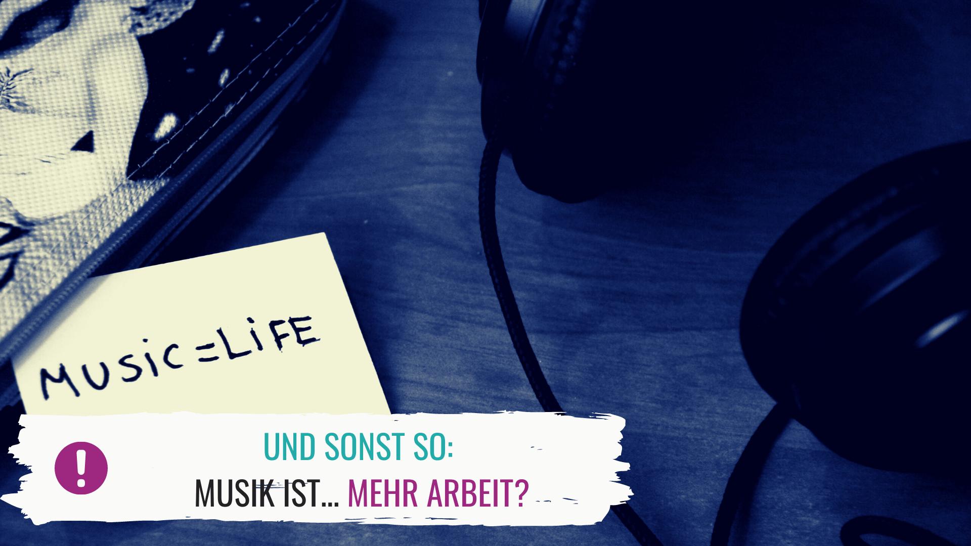 Jahresrückblick Music. Non. Stop. 2018: Musik ist mehr – Arbeit?