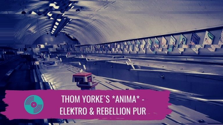Thom Yorke`s *Anima* Titelbild