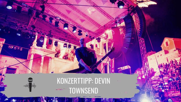 Devin Townsend Konzerttipp Titelbild