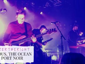 Titelbild Konzert Leprous, The Ocean, Port Noir