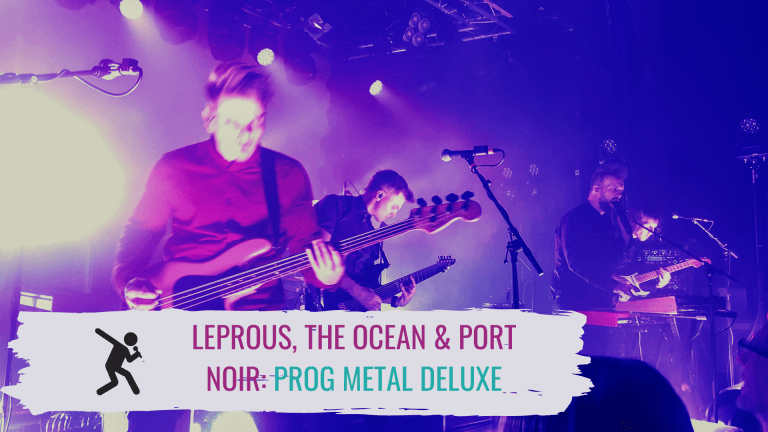 Konzertbild Leprous, The Ocean, Port Noir